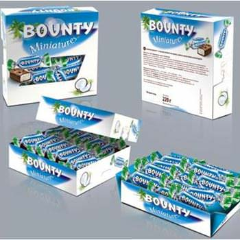 "Candies ""Bounty - miniatures"" - delivery in Ukraine"