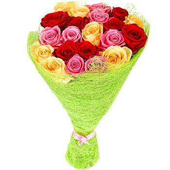 "Bright bouquet ""Kaleidoscope of love"" - delivery in Ukraine"