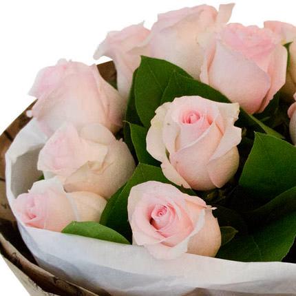 Букет рожевих троянд - замовити з доставкою