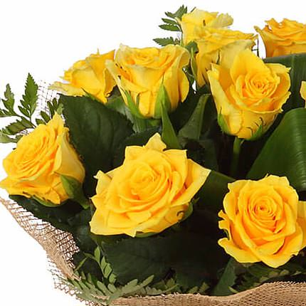 Bouquet of yellow roses - delivery in Ukraine