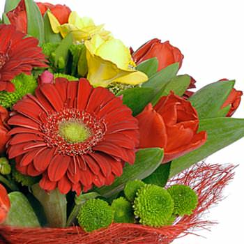 """Bouquet """"Flame of passion"""" - delivery in Ukraine"""