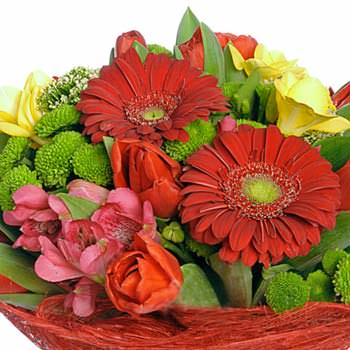 """Bouquet """"Flame of passion"""" - order with delivery"""