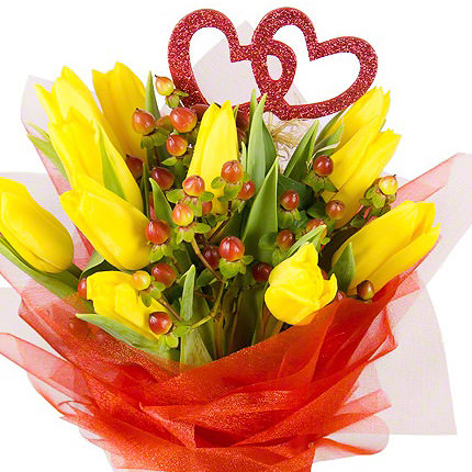 "Romantic bouquet ""Spring Love"" - delivery in Ukraine"