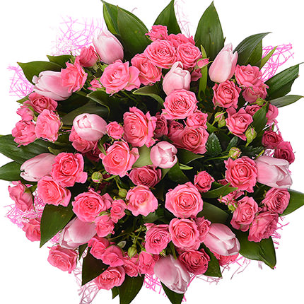 "Romantic bouquet ""Queen"" - order with delivery"