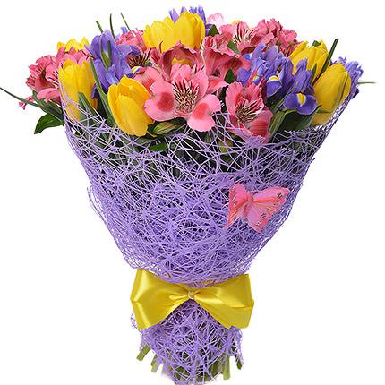 "Romantic bouquet ""Purple Haze"" - delivery in Ukraine"