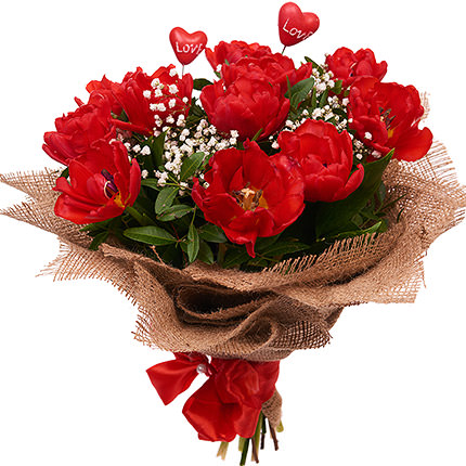 "Romantic bouquet ""Dolce Vita"" - order with delivery"