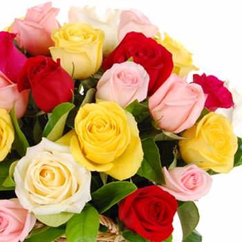 "Basket of roses ""Felicita"" - delivery in Ukraine"
