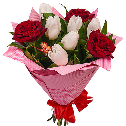 "Bouquet ""Romantic notes"" - delivery in Ukraine"