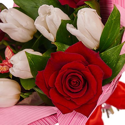 "Bouquet ""Romantic notes"" - order with delivery"