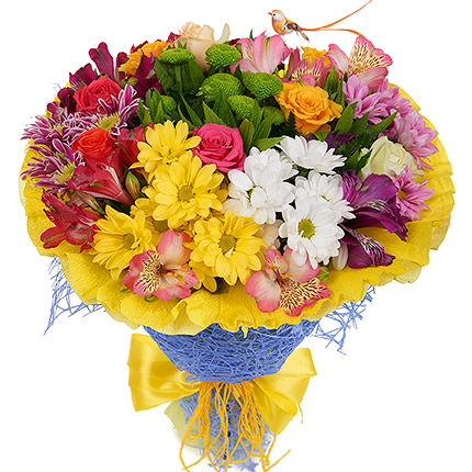 "Bouquet ""Spring watercolor"" - delivery in Ukraine"