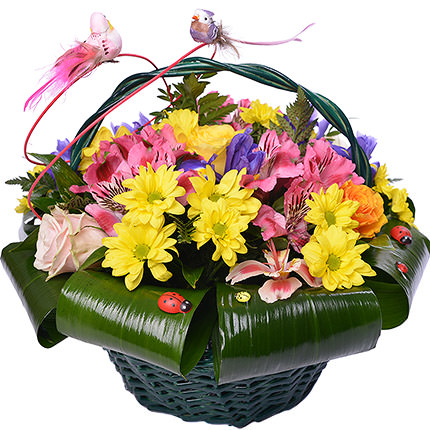 "Basket ""Spring Love"" - delivery in Ukraine"