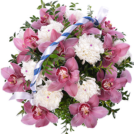 """Basket """"Greenhouse of Orchids"""" - order with delivery"""