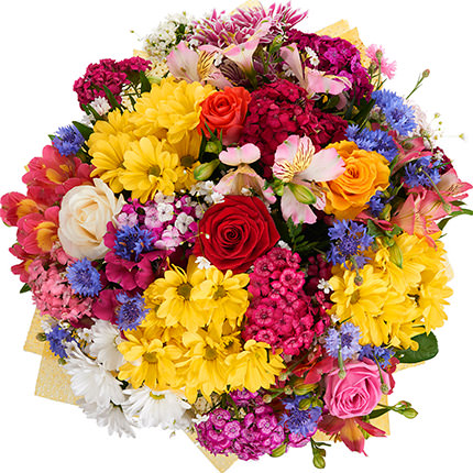 "Bright bouquet ""Hawaiian Flowers"" - order with delivery"