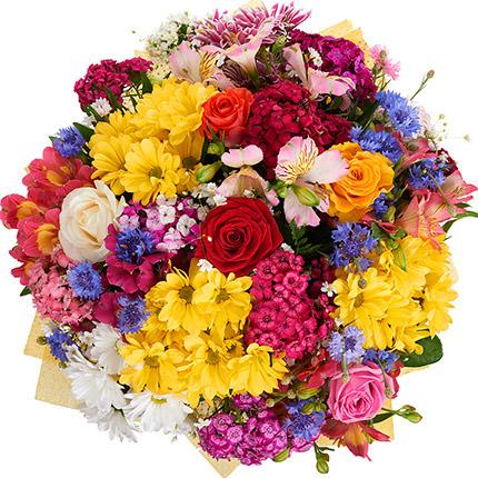 """Яркий букет """"Гавайские цветы"""" - заказать с доставкой"""