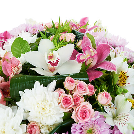 "Bouquet ""Blooming garden"" - order with delivery"