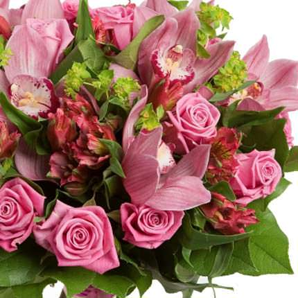 Bouquet of beautiful flowers - delivery in Ukraine