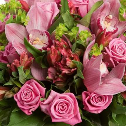 Bouquet of beautiful flowers - order with delivery
