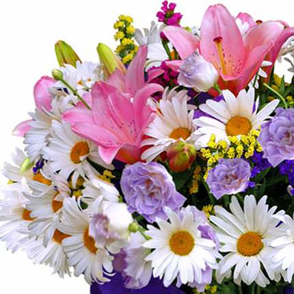 """Bouquet """"Cruise in summer!"""" - order with delivery"""
