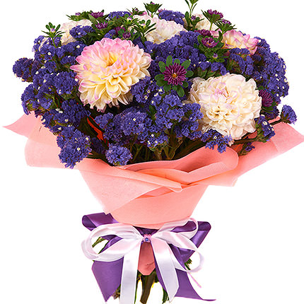 "Bouquet ""Romantic Blues"" - delivery in Ukraine"