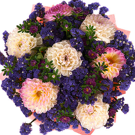 "Bouquet ""Romantic Blues"" - order with delivery"