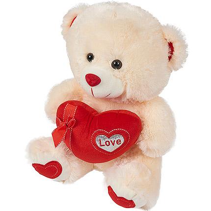 Romantic Teddy Bear - delivery in Ukraine