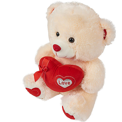 Romantic Teddy Bear - order with delivery