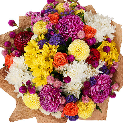 "Bright bouquet ""Please your beloved"" - delivery in Ukraine"