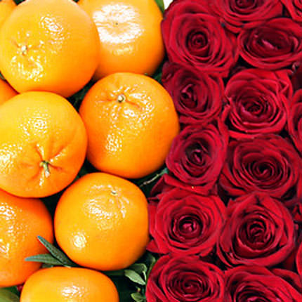"Composition ""Heart of the Mandarin"" - delivery in Ukraine"