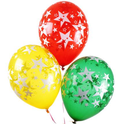 """Корзина """"Яркая"""" с воздушными шарами - заказать с доставкой"""