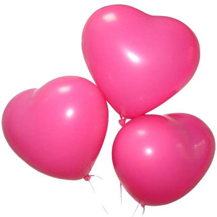 """Букет """"Очарование"""" с воздушными шарами - заказать с доставкой"""