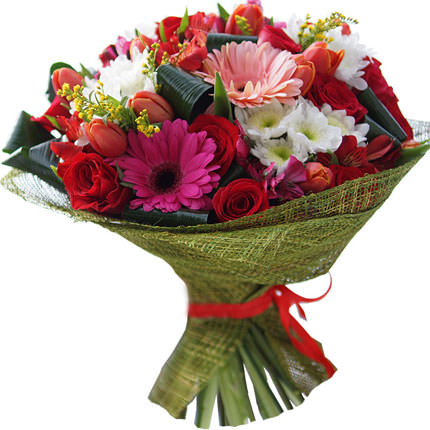 "Bright bouquet ""For your favorite!"" - delivery in Ukraine"