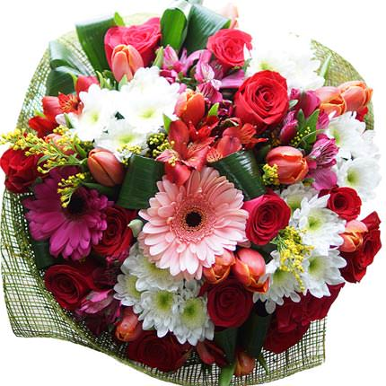 "Bright bouquet ""For your favorite!"" - order with delivery"
