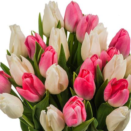 """Букет тюльпанов """"Нежность"""" - заказать с доставкой"""