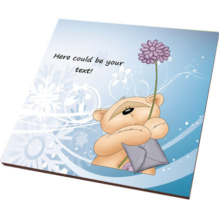 "Postcard-magnet ""To my cutie"" - order with delivery"