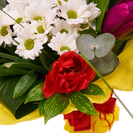 "Bouquet ""Spring Greetings!"" - order with delivery"