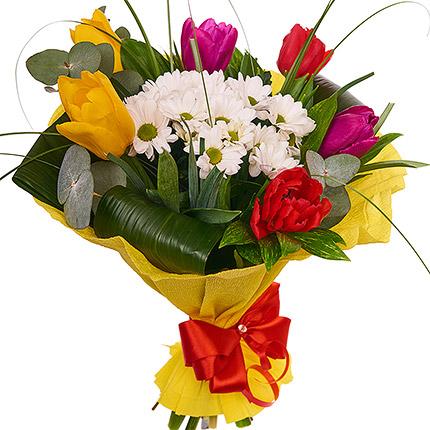 "Bouquet ""Spring Rainbow"" - delivery in Ukraine"