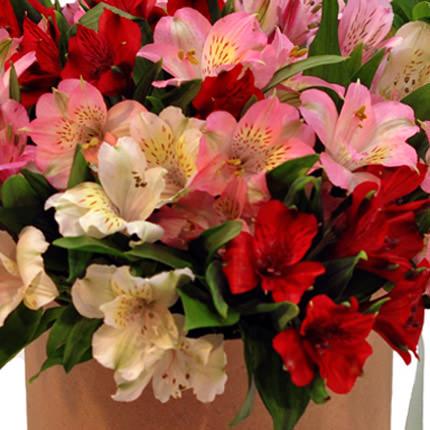 """Цветы в коробке """"Цвет счастья"""" - доставка по Украине"""