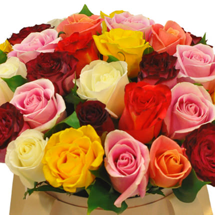 """Flowers in a box """"Unforgettable gift"""" - delivery in Ukraine"""