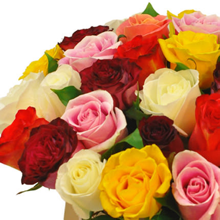 """Flowers in a box """"Unforgettable gift"""" - order with delivery"""