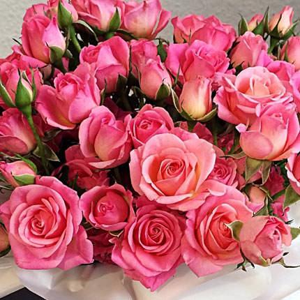 """Цветы в коробке """"Влюбленность"""" - заказать с доставкой"""
