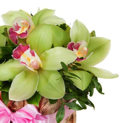 """Цветы в коробке """"Сказочные орхидеи"""" - доставка по Украине"""