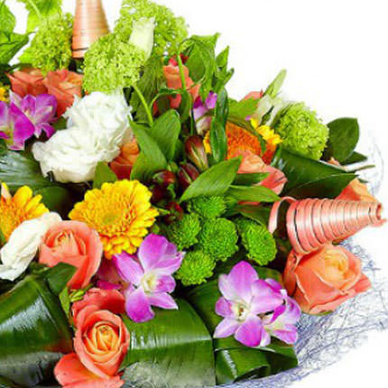 "Bouquet ""Flower Jazz"" - delivery in Ukraine"