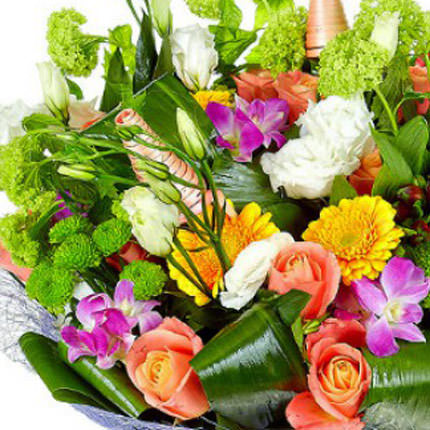 "Bouquet ""Flower Jazz"" - order with delivery"