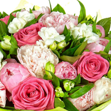 "Romantic bouquet ""For Beloved"" - order with delivery"