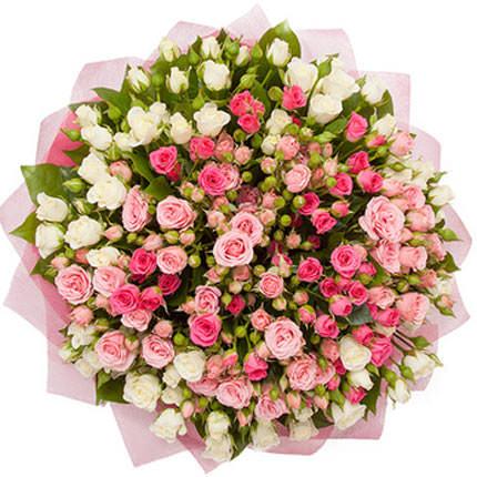 51 кустовая роза - доставка по Украине
