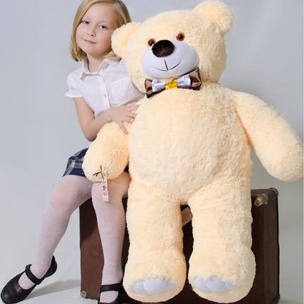 Giant Teddy Bear (beige) - delivery in Ukraine