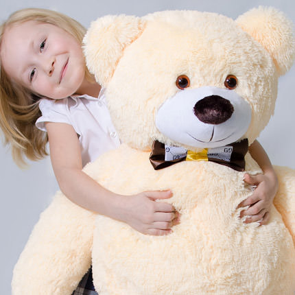 Giant Teddy Bear (beige) - order with delivery