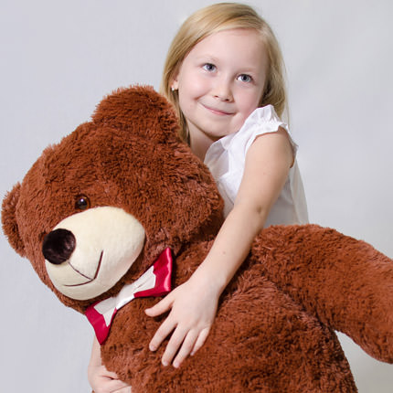 Giant Teddy Bear (brown) - delivery in Ukraine