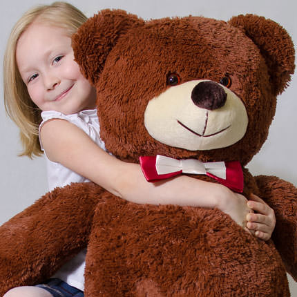 Giant Teddy Bear (brown) - order with delivery