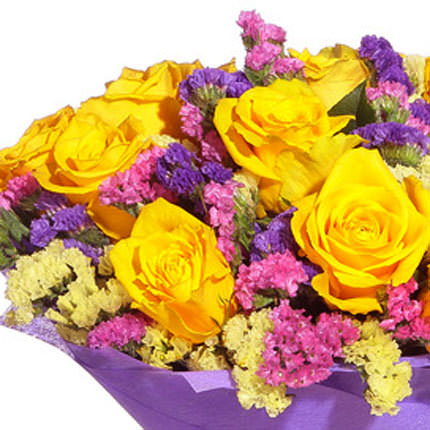 """Romantic bouquet """"The Firebird"""" - order with delivery"""